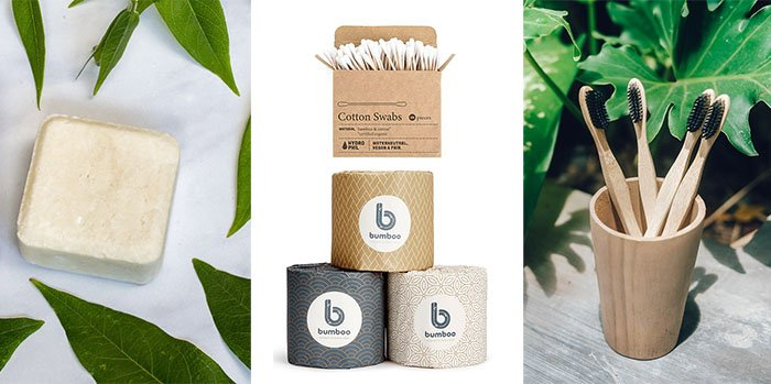 Green Eco Friendly Toiletries for New Year Resolutions