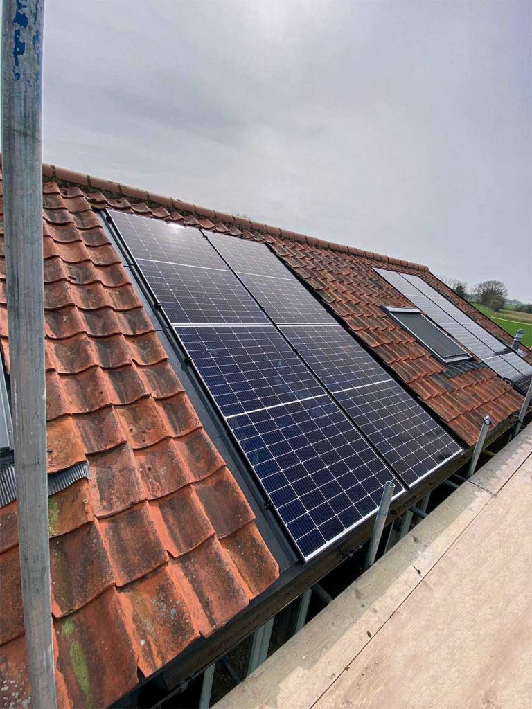 In Roof Solar Panels