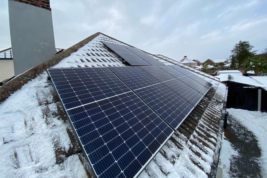 Solar Panels and Snow