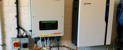 AC Couples Solar Battery System